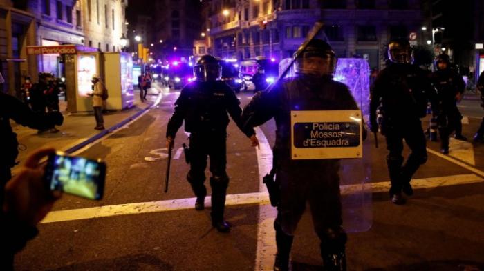 Erneut Gewalt bei Protesten in Barcelona