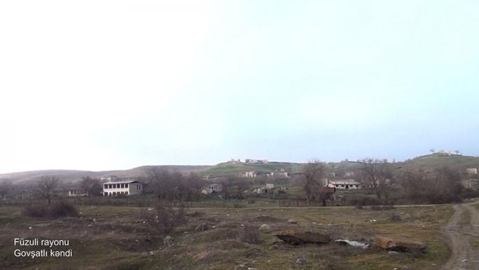 Füzulinin Govşatlı kəndinin görüntüləri -    VİDEO