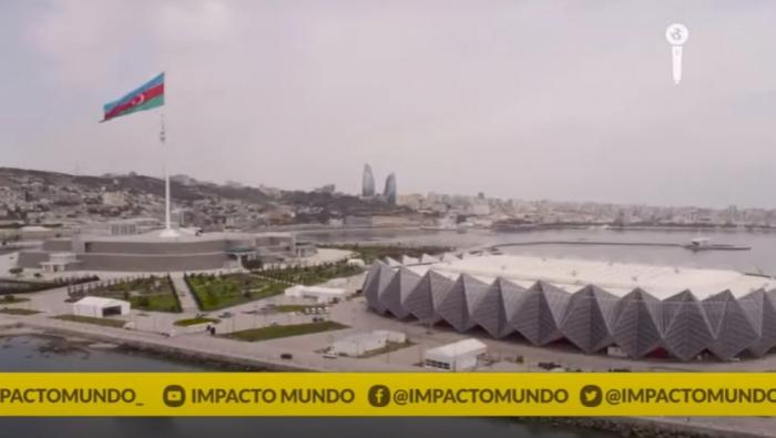 Colombian TV Channel broadcasts reportage on Azerbaijan