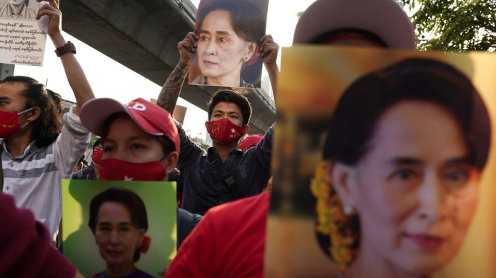 US threatens sanctions over Myanmar coup