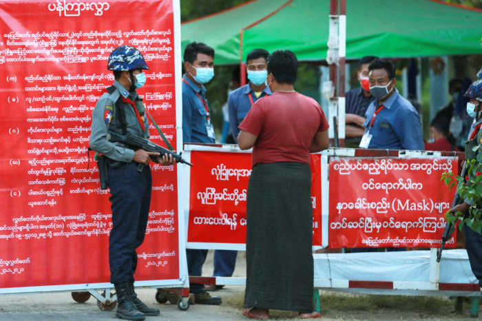 Myanmar doctors protest against military coup