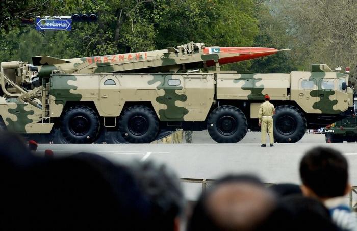 Pakistan test-fires short-range ballistic missile