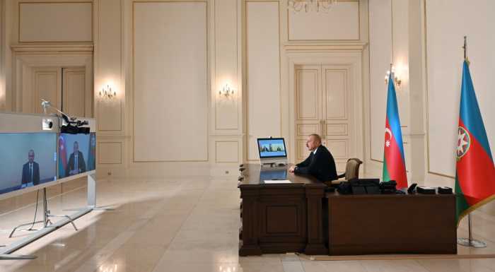 Azerbaijani president calls on citizens not to travel to liberated lands without permission