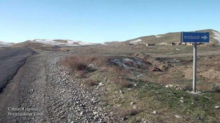 Niyazgulular village of Azerbaijan's Jabrayil district –  VIDEO