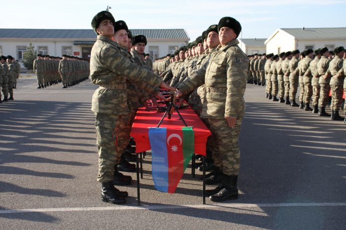 Military oath taking ceremonies held in Azerbaijan Army -   PHOTOS