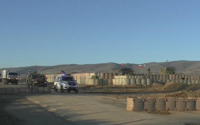 Russian peacekeepers ensure transit of humanitarian cargo to Kalbajar