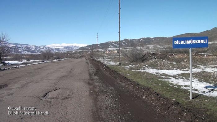 Azerbaijan MoD shares new  video  from Gubadli district