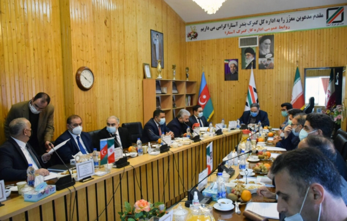 Azerbaijan, Iran exchange views over prospects for customs cooperation