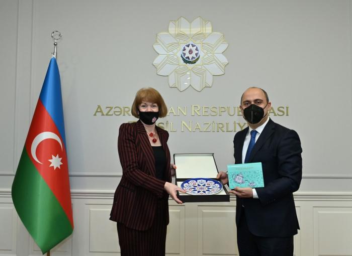 Azerbaijan, UK discuss prospects for development of co-op in education field