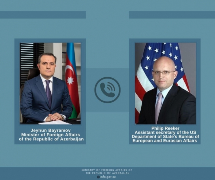 Azerbaijani FM discusses Karabakh peace deal withU.S. diplomat