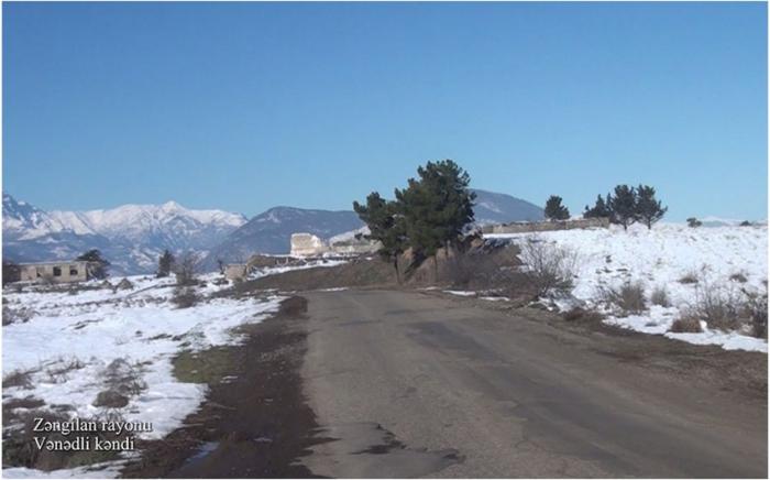 Azerbaijan MoD shares new   video   from Zangilan district