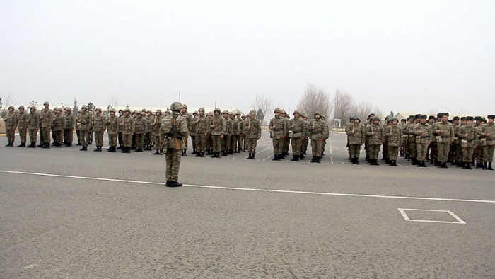 New training year continues in Azerbaijan Army -   VIDEO