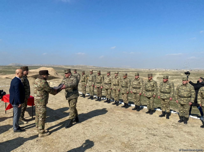 Azerbaijani sappers awarded int