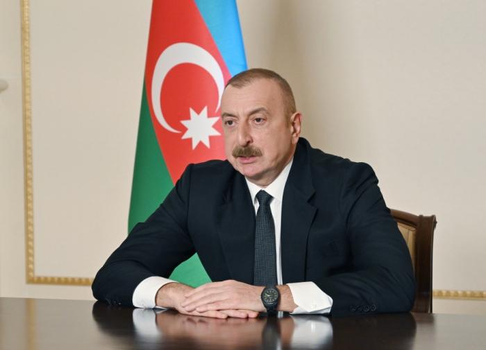 Prezident Cənub Qaz Dəhlizinin inşasında iştirak edən tərəfdaşlara təşəkkürünü bildirdi