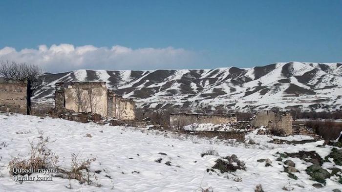 Qubadlının Qaralar kəndi -    VİDEO
