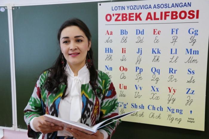 Özbəkistan Latın qrafikasına keçir
