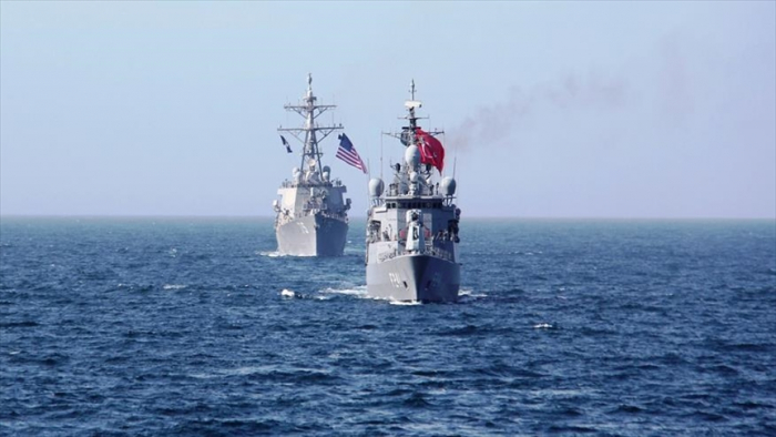 US, Turkish navies hold joint exercises in Black Sea