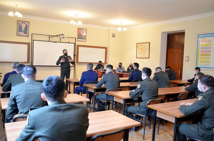 Azerbaijan Military Academy hosts seminar for cadets –   PHOTOS