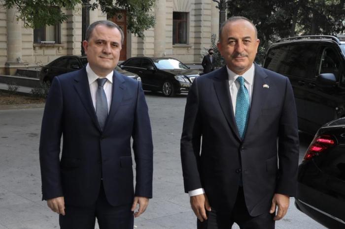 Azerbaijani FM congratulates his Turkish counterpart