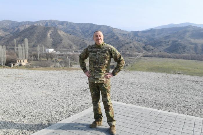 """""""Azərbaycan Naxçıvanla, Türkiyə ilə birləşir"""" -    Prezident"""