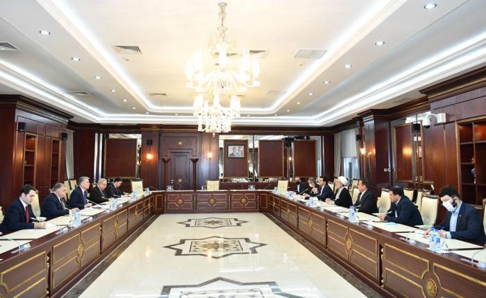 Iranian MPs visit Azerbaijani parliament - UPDATED