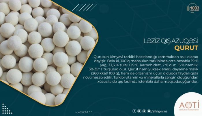Ləziz qış azuqəsi -    qurut