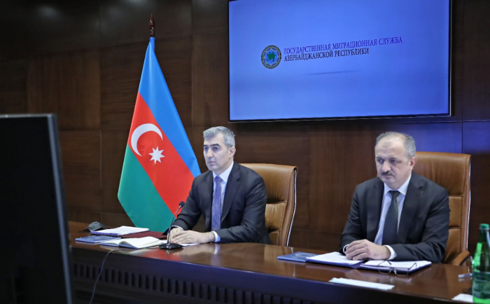 Azerbaijani delegation attends online meeting of CIS Council of Heads of Migration Bodies