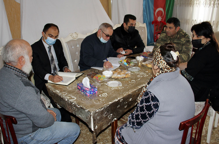Azerbaijan providing social, psychological support to families of martyred and missing servicemen