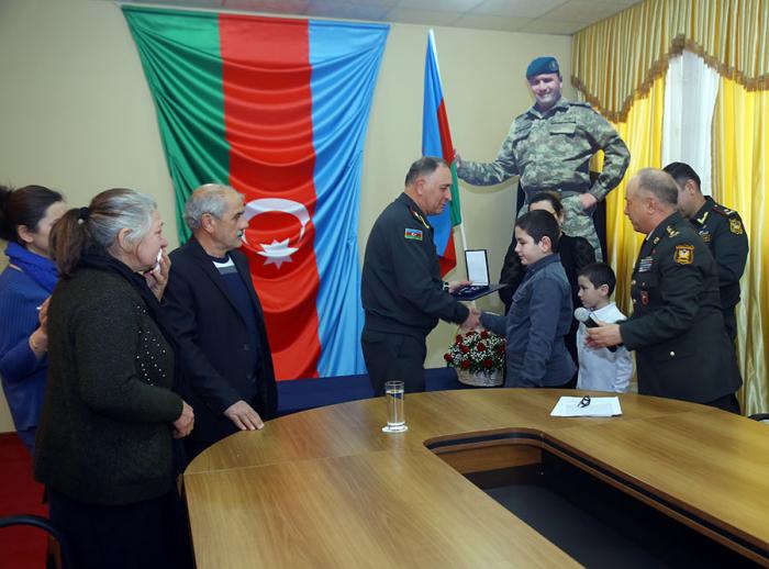 NATO Meritorious Service Medal presented to Azerbaijani martyr's family -  PHOTOS