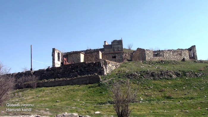 Hamzali village of Azerbaijan's Gubadli district -   VIDEO