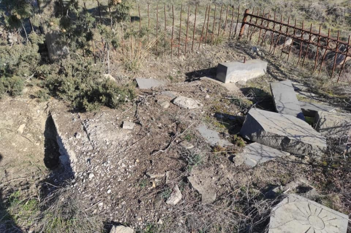 Another Azerbaijani village vandalized by Armenians –   PHOTOS