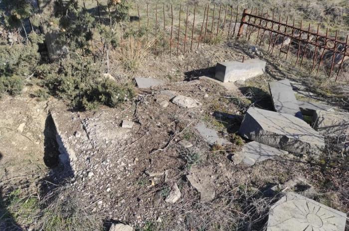 Ein weiteres aserbaidschanisches Dorf, das von Armeniern zerstört wurde -   FOTOS