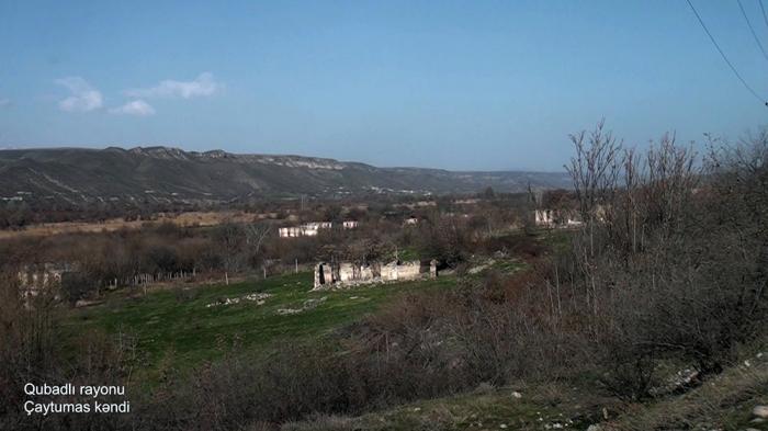 Chaytumas village of Azerbaijan's Gubadli district –  VIDEO