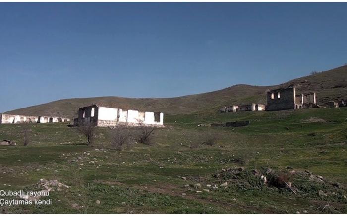 Le ministère de la Défense diffuse une   vidéo   du villagede Tchaïtoumas de la région de Goubadly