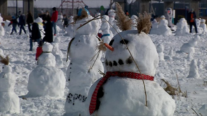 People build one thousand snowmen in Poland to raise money for toddler -   NO COMMENT