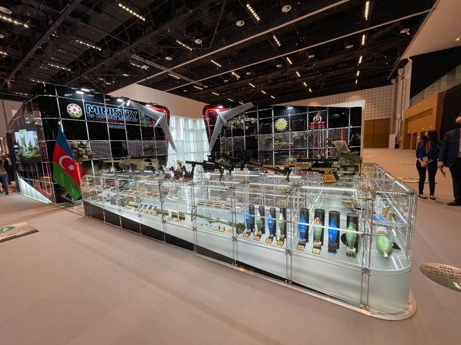 Azerbaijan showcases defense industry products at IDEX-2021 in UAE