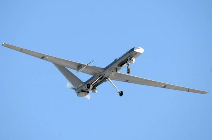 """Erstmals auf Video: Kampfdrohne """"Orion"""" fliegt Angriffe gegen Terroristen in Syrien"""