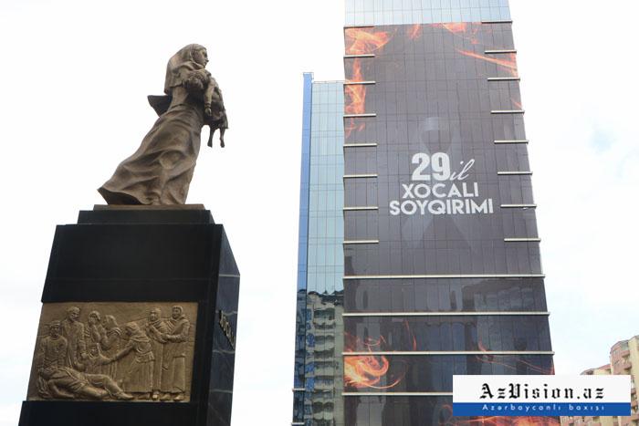 Préparatifs en cours à Bakou pour le 29e anniversaire du génocide de Khodjaly -  PHOTOS