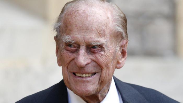 Prince Philip doing