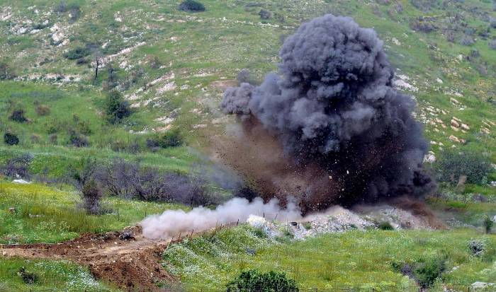 One civilian injured in mine explosion in liberated Azerbaijani lands