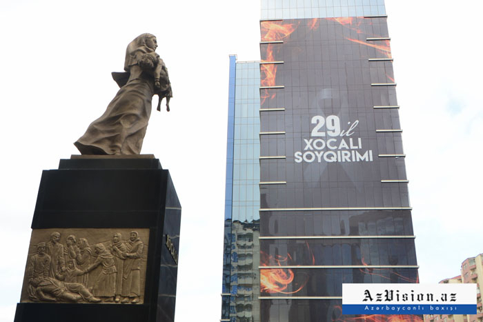 Preparations underway in Baku for 29th anniversary of Khojaly genocide –   PHOTOS