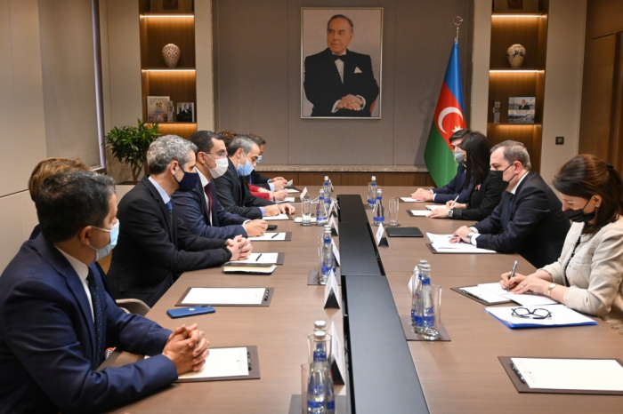 Azerbaijani FM receives delegation of French National Assembly