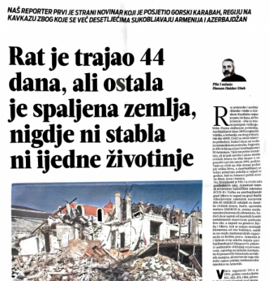 The Croatian media writes about Armenian war crimes