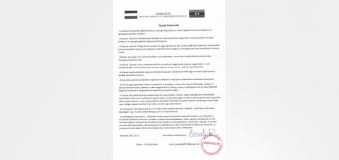 Azərbaycan diasporundan Macarıstana Xocalı ilə bağlı çağırış