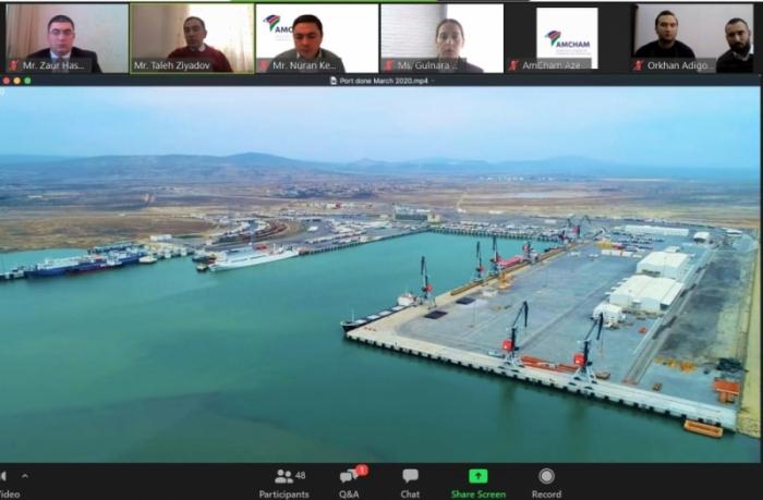 Bakı Limanının ticarət dövriyyəsi 20 faiz artıb