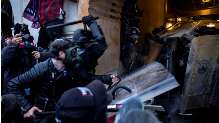 Security officials confirm Capitol rioters