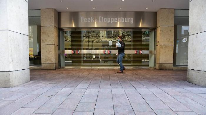 Große Einzelhändler klagen gegen Lockdown
