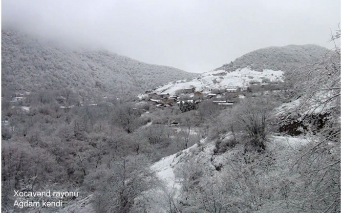 Aghdam village of Azerbaijan's Khojavend district – VIDEO