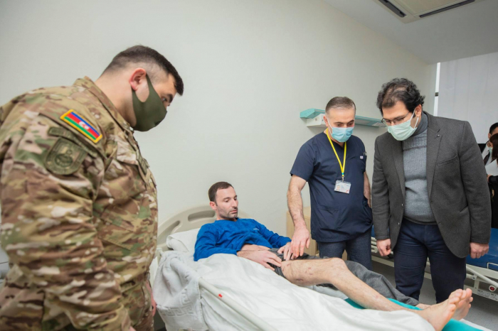Turkish doctors continue to examine Azerbaijani war veterans – PHOTOS
