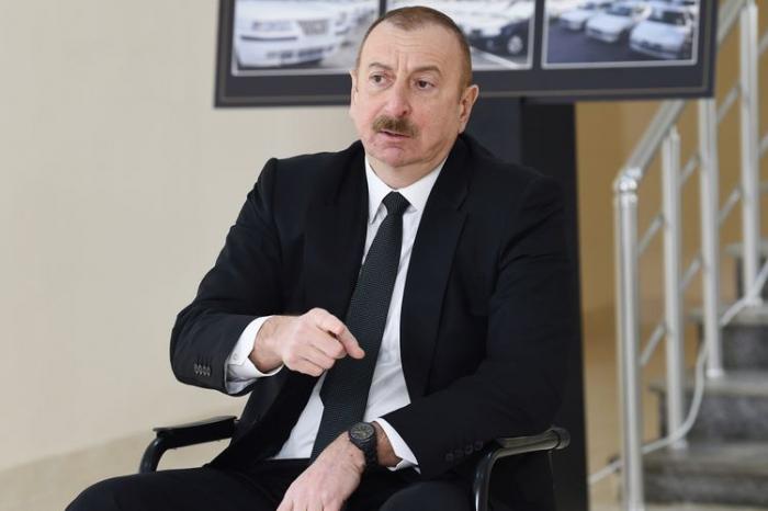 """""""Həmin o """"İskəndər"""" raketlərini Ermənistan pulsuz alıb"""" -   İlham Əliyev"""